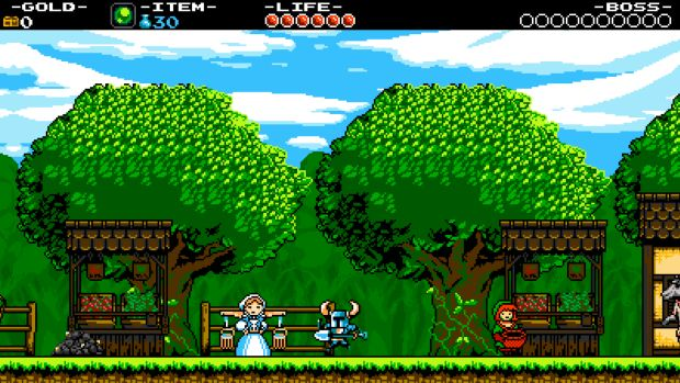 Shovel Knight Nintendo Screen 1