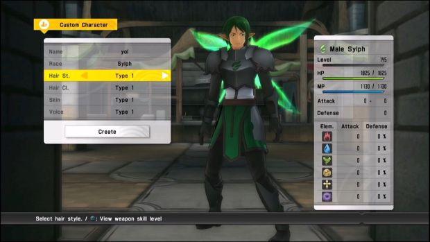 Sword Art Online Lost Song Gameplay Screen 2