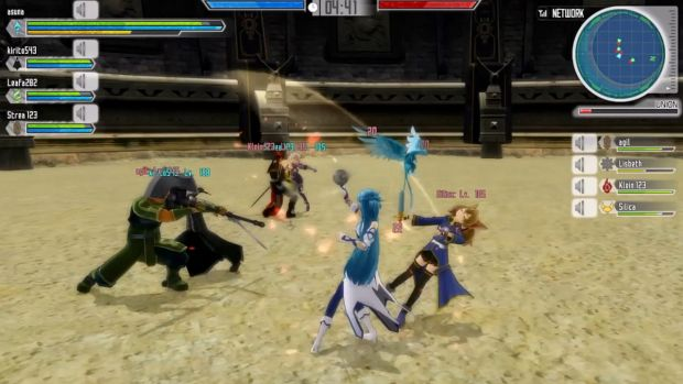 Sword Art Online Lost Song Gameplay Screen 4