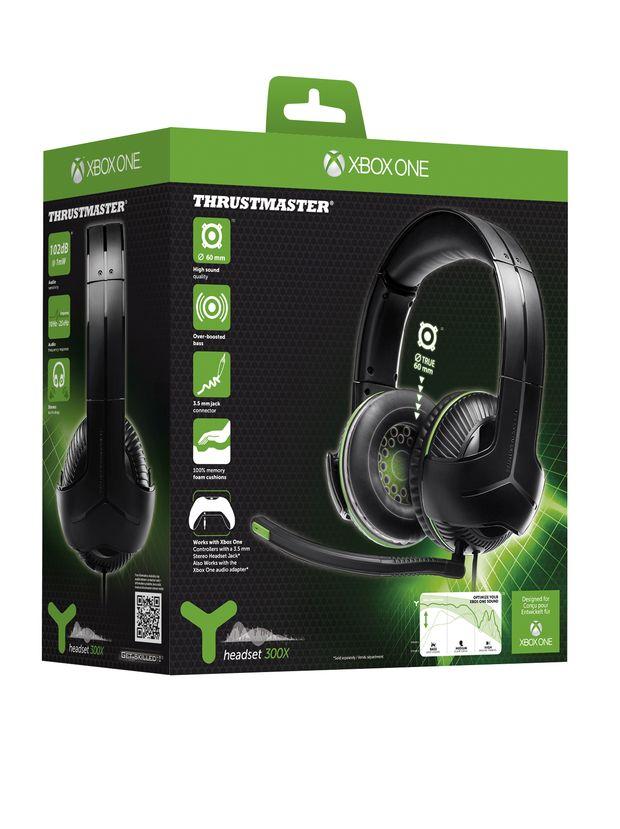 Thrustmaster un casque gaming xbox one pour 60 euros - Xboxygen le site consacre aux consoles xbox et xbox ...
