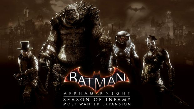 batman arkham knight season of infamy most wanted