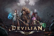 devilian trion worlds logo closed beta