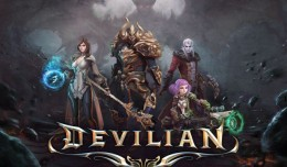 devilian trion worlds logo closed beta