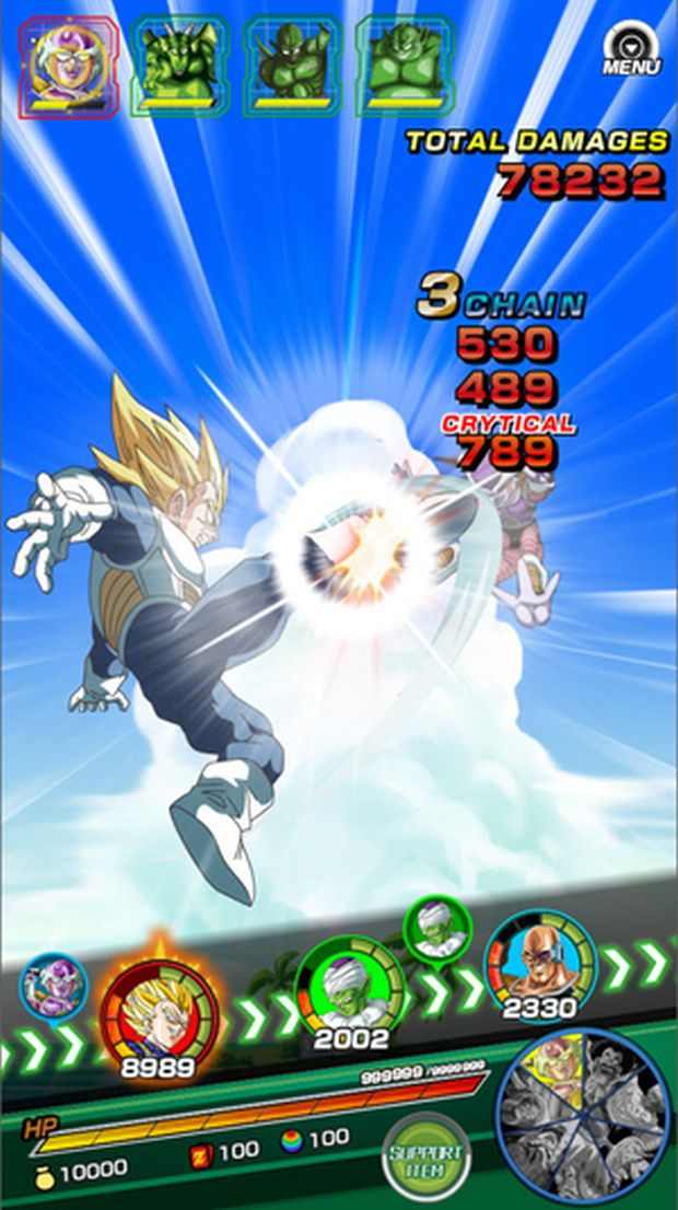 dragon ball z dokkan battle screen 2