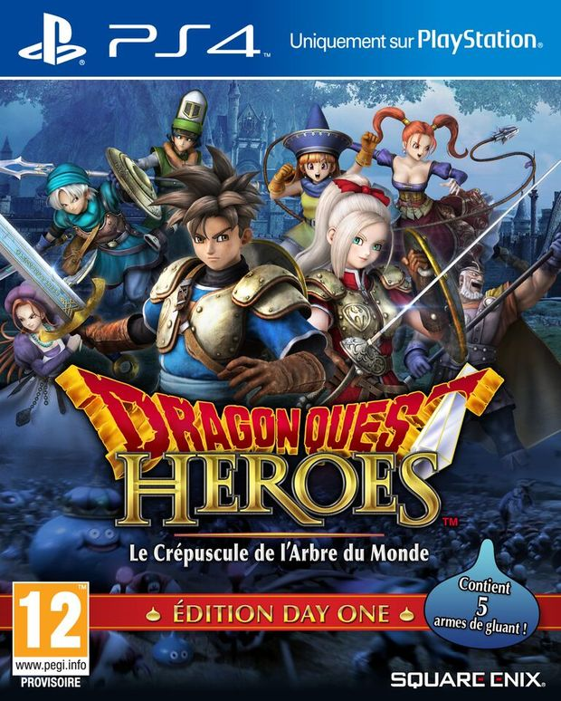 dragon quest heroes day one logo