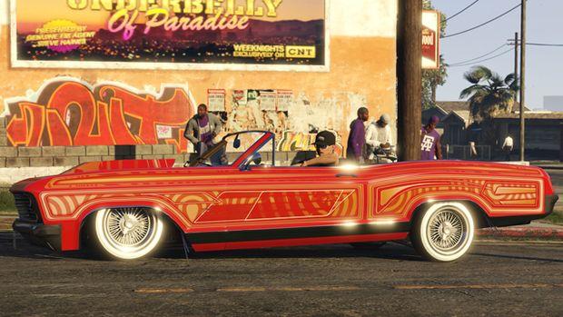 gta online lowriders benny's custom 1