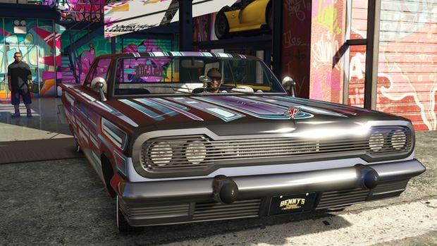 gta online lowriders benny's custom