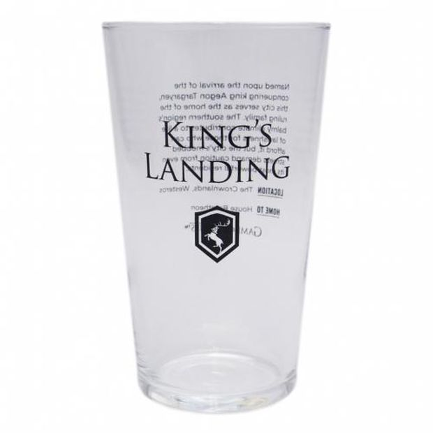 hbo shop game of thrones glass king's landing 1