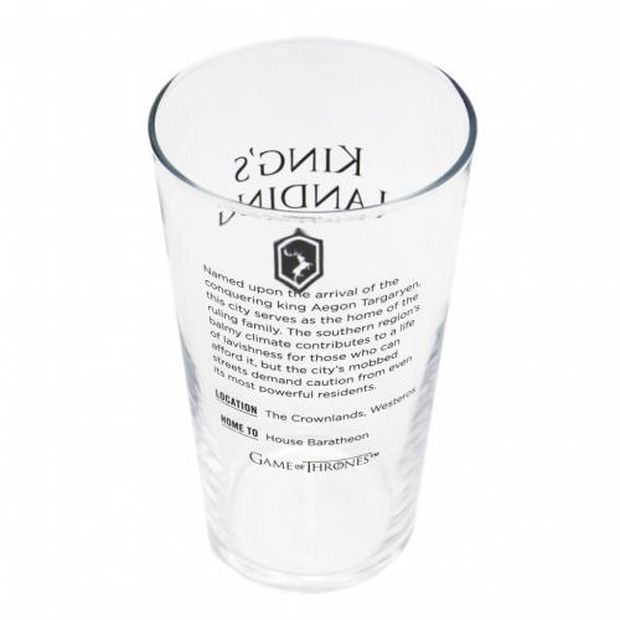 hbo shop game of thrones glass king's landing 2