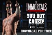 johnny cage wwe immortals logo