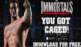 johnny cage wwe immortals logo