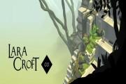 lara croft go key art logo