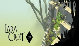 lara croft go key art logo