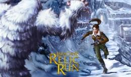 lara croft relic run col de la montagne logo
