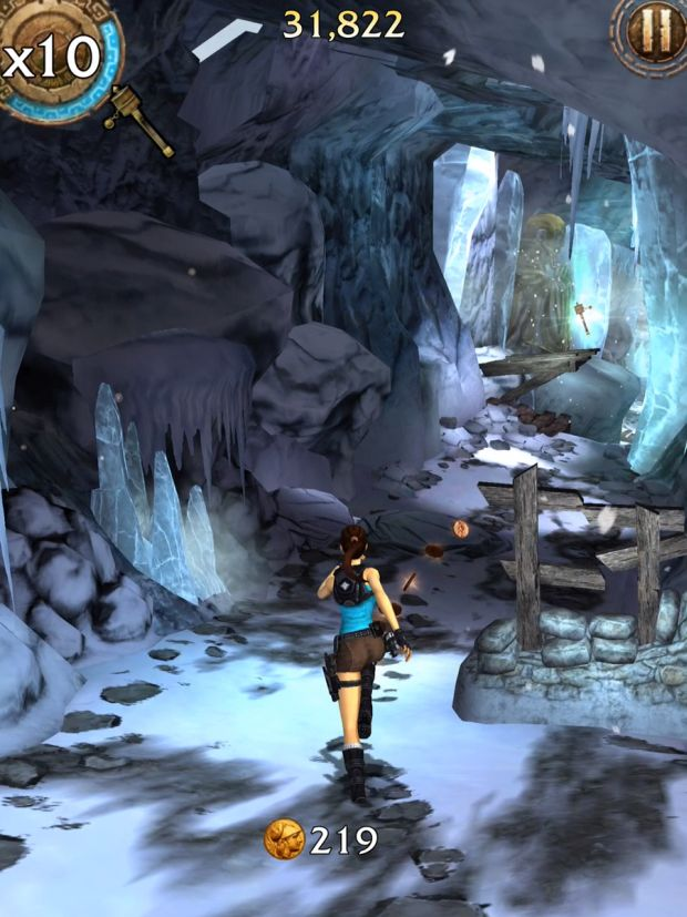 lara croft relic run col de la montagne screen 5