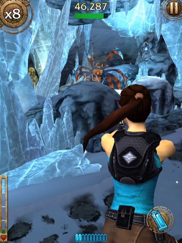 lara croft relic run col de la montagne screen 6