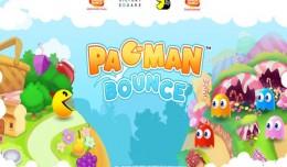 pac-man bounce logo