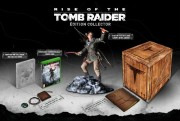 rise of the tomb raider collector package logo