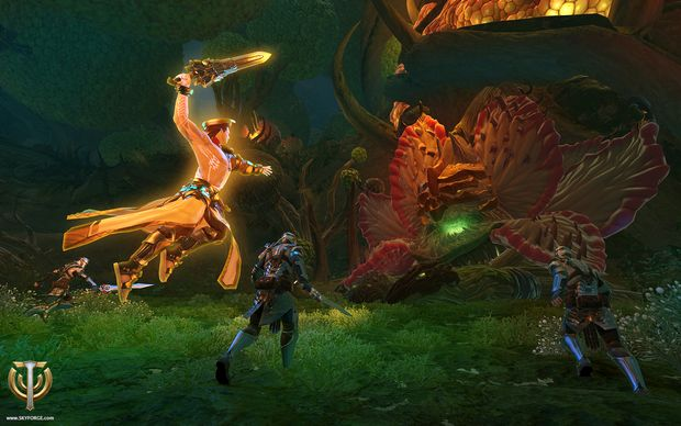 skyforge journey of the divine screen 2