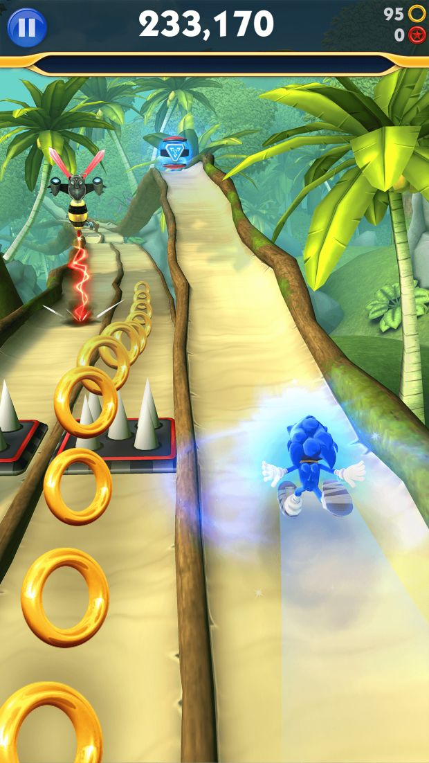sonic dash 2 sonic boom screen 1