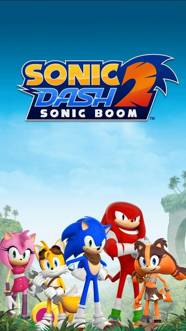 sonic dash 2 sonic boom screen logo 1