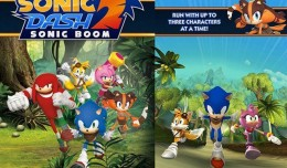 sonic dash 2 sonic boom screen logo