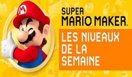 super mario maker niveaux de la semaine best level logo