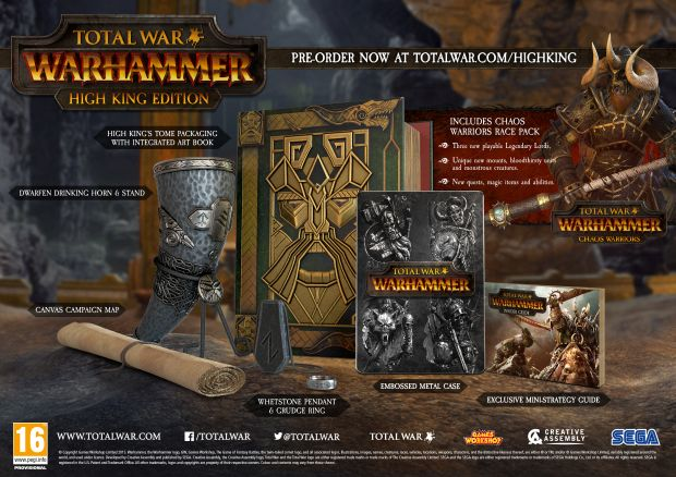 total war warhammer high king edition