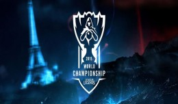 worlds league of legends championship 2015 logo
