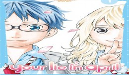 your lie in april tome 1 critique cover