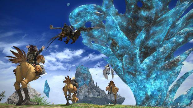 Final Fantasy XIV update 3.1 screen 1