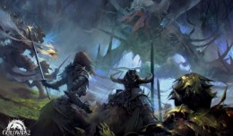 Guild Wars 2 Heart of Thorns Raid Artwork