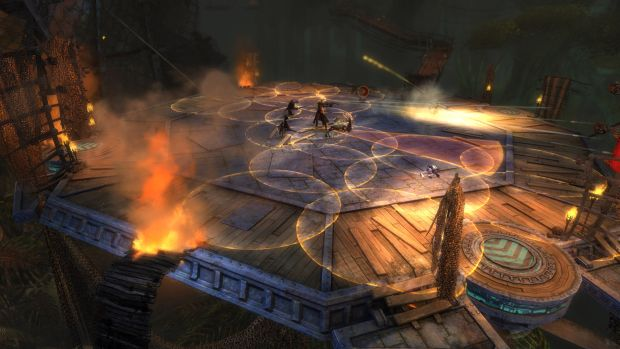 Guild Wars 2 Heart of Thorns Raid Screen 3