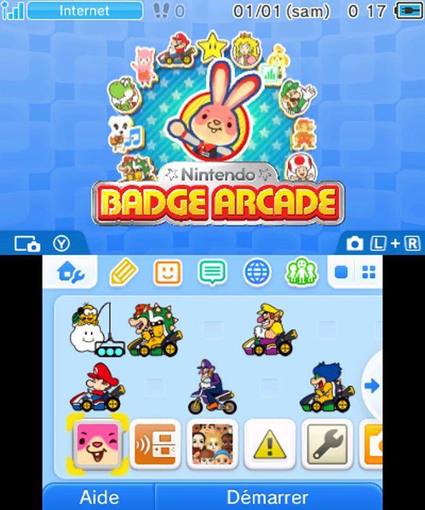 Nintendo Badge Arcade Screen 1