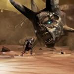 Un remake qui prend souvent des airs de God of War avec des boss... titanesques!