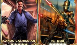 Star Wars Force Collection lando calrissian ig 88b