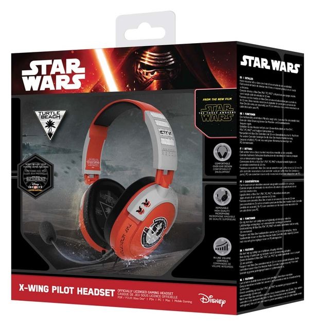 Star Wars Turtle Beach X-Wing Pilot Screen 1