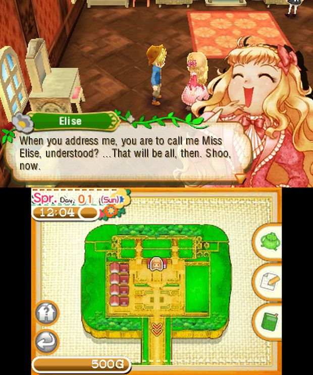 Story of Seasons Screen 2