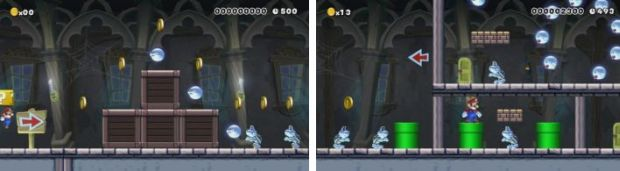 Super Mario Maker Animas Ghost House