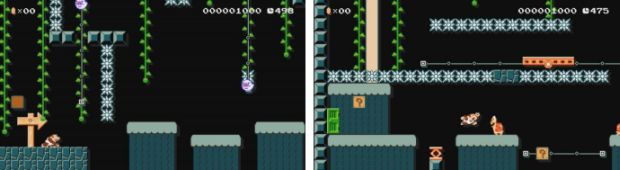 Super Mario Maker Donkey kong jr