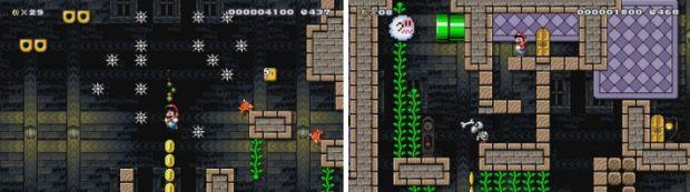 Super Mario Maker Spooky Ruins