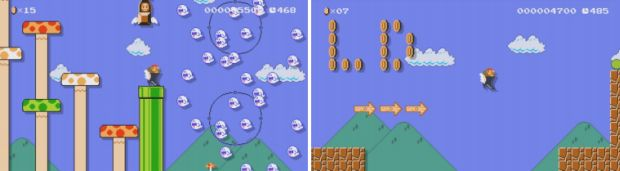 Super Mario Maker weird's mario weird's adventure
