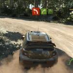 En vue externe, le constat technique de ce WRC 5 est calamiteux! Clipping, aliasing, textures grossières et réactions du véhicule farfelues... Incompréhensible!
