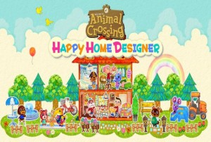 animal crossing happy home designer test review screen logo