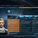 Bienvenue à la Global Union. Votre but? Etablir une nouvelle vague de colons sur l'astre lunaire!