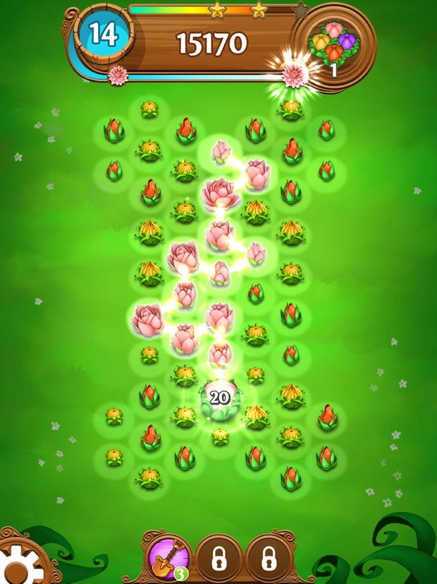 blossom blast saga screen 1