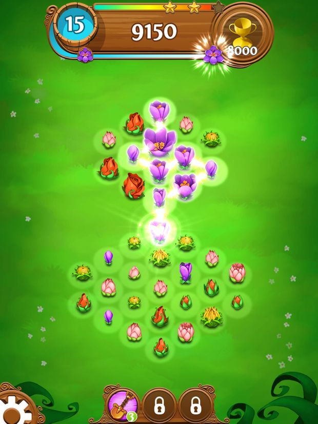 blossom blast saga screen 3