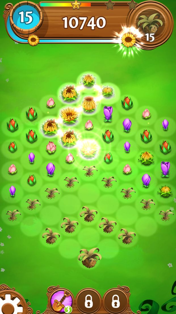 blossom blast saga screen 4