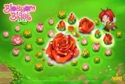 blossom blast saga screen logo