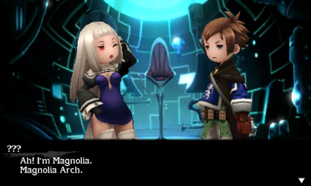bravely second end layer screen magniolia